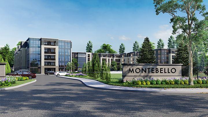 Rendering of Montebello Condos exterior
