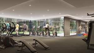 Rendering of Nuvo 2 Condos fitness centre