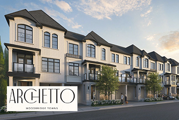 Archetto Woodbridge Towns in Vaughan