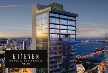E11even Hotel and Residences by Property Markets Group in Miami