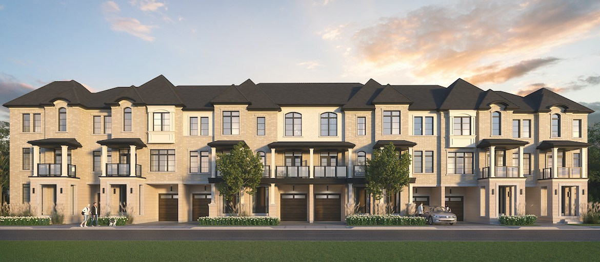 Rendering of Archetto Towns exterior elevation 2 BLK 08