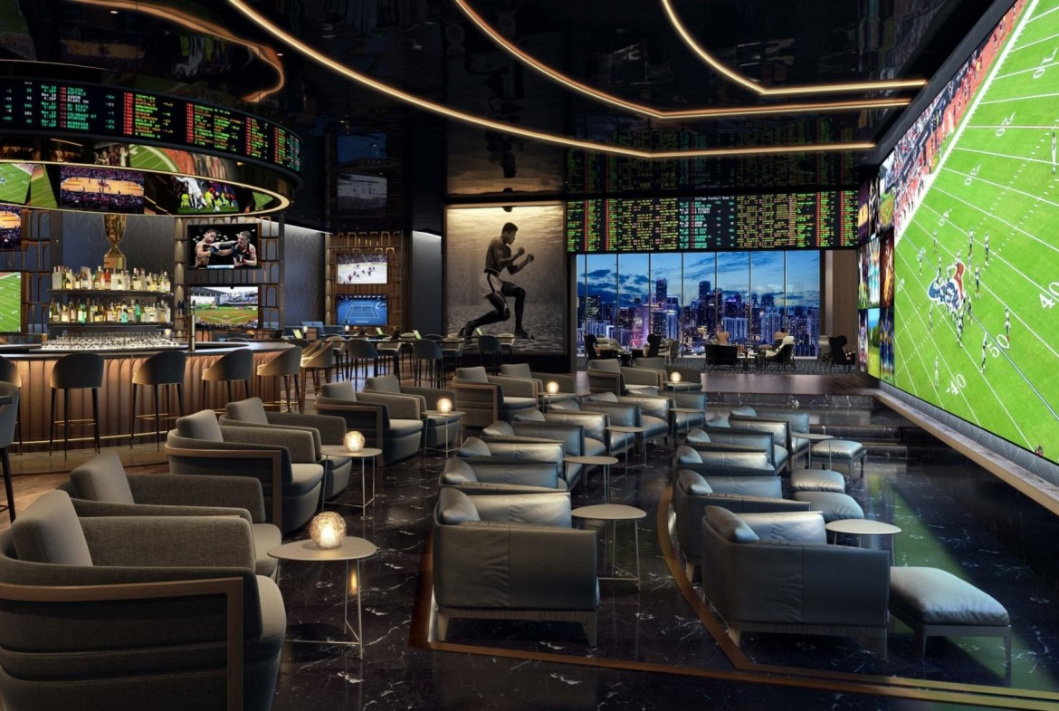 Rendering of E11even Hotel and Residences theatre room