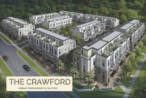 The Crawford Urban Towns by Fernbrook Homes