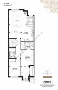 The Crawford Towns floor plan Bronte