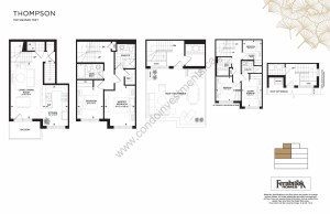 The Crawford Towns floor plan Thompson