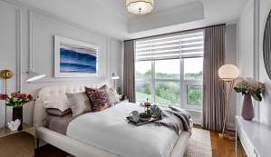 Rendering of Angus Glen South Village suite bedroom