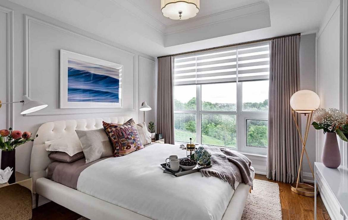 Rendering of Angus Glen South Village suite bedroom