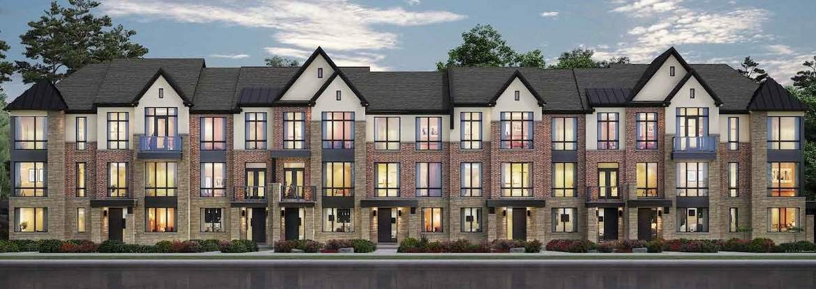 Rendering of Angus Glen South Village Towns exterior 2