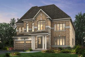 Rendering of Pathways Caledon East residence exterior