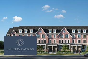 Highbury Gardens Private Residences by Stafford Homes in Whitby