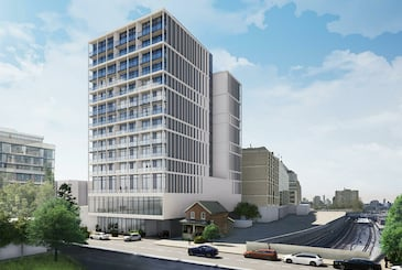 25 Imperial Condos in Toronto by Plaza Corp