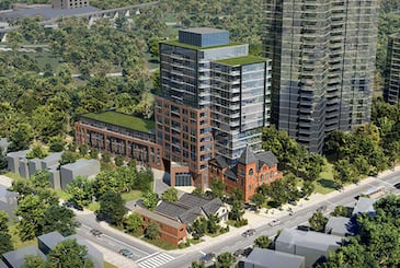 954 Broadview Condos in Toronto by Diamond Kilmer Developments