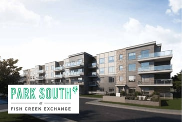 Park South Condos at Fish Creek Exchange by Graywood Developments in Calgary