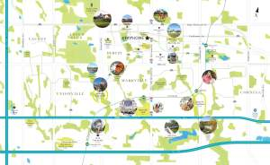 Map of EverHome Condos in Markham