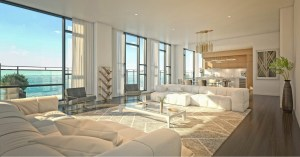 Rendering of 628 Saint-Jacques Condos interior open-concept