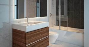 Rendering of 628 Saint-Jacques Condos interior bathroom