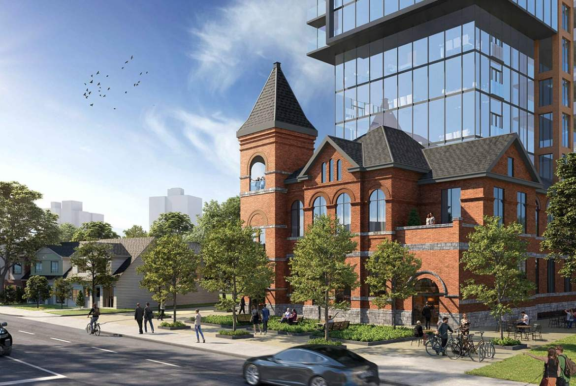 Rendering of 954 Broadview Condos Estonian House Redevelopment