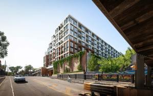 The Dupont Condos exterior streetscape