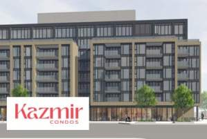 Kazmir Condos in Etobicoke by Lormel Homes
