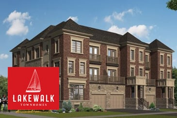 Lakewalk Townhomes in Ajax by Home Developments