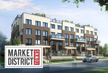 Market District Urban Towns in Pickering by Icon Homes