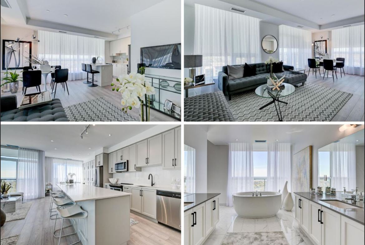 Rendering of SF3 Condos and Towns interiors
