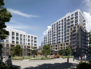 Exterior rendering of Boulevard at the Thornhill Condos