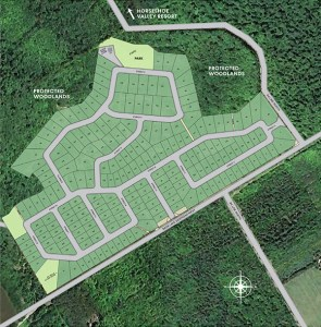 Eagles' Rest Estates site plan