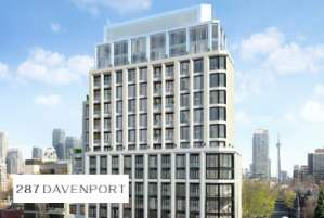 287 Davenport Condos in Toronto by Burnac Corporation
