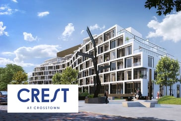 Crest Condos At Crosstown Community in Toronto by Aspen Ridge Homes