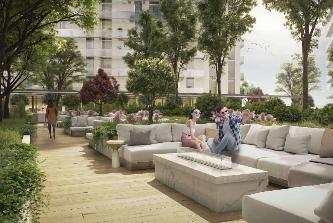 Grand Bell 2 Condos outdoor lounge