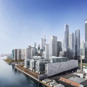 Pier 27 community in Toronto, Ontario, Canada