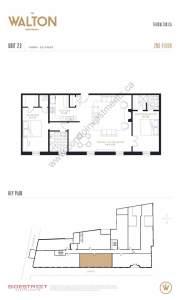 The Walton Residences floor plan 1