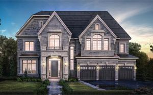 Exterior rendering of a home Copperwood Kleinburg