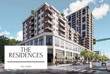 The Residences On Owen in Barrie by Ballantry Homes and Gillam Group