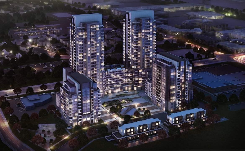 Aerial rendering of ME Community in Scarborough