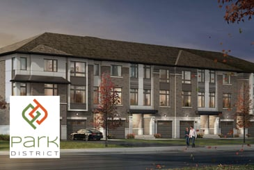 Park District Towns in Pickering by Icon Homes