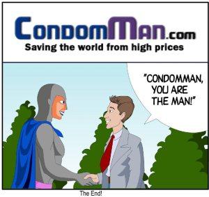 condomman is the man