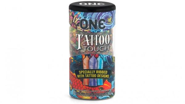 One tattoo touch condoms 12 count