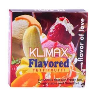 Klimax Tutti Frutti Flavoured Condoms Online