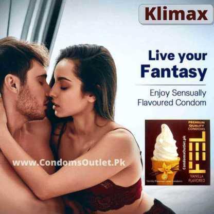 Feel Vanilla Flavored Condoms Online