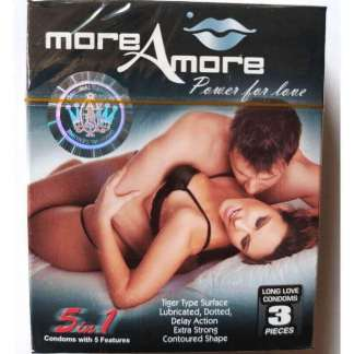 More Amore Timing Condoms Online in Pakistan