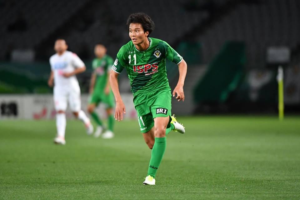 中野雅臣がFC今治へ期限付き移籍