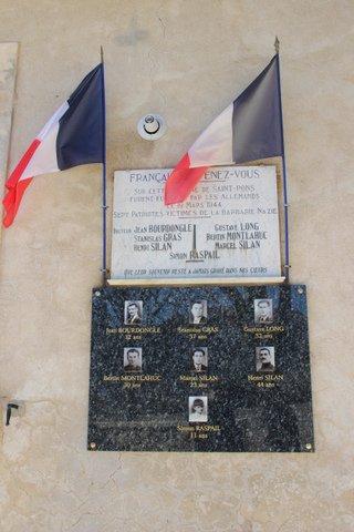 Photos de la Cérémonie du 19 Mars : Hommage aux Martyrs de St Pons