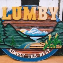 New Lumby sign