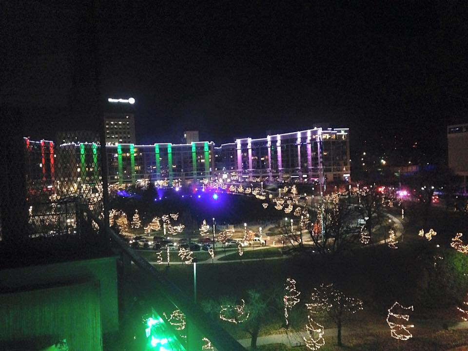 Midtown Crossing - Holiday Light Show