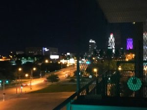 Nighttime From The Balcony at The Condos At 3000 Farnam - 2