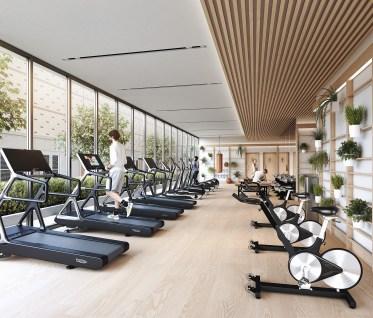 Central Condos gym