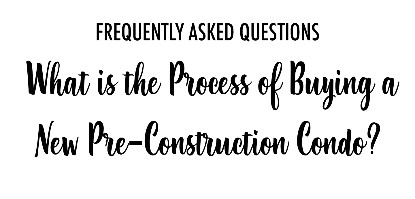 process of buying new condo