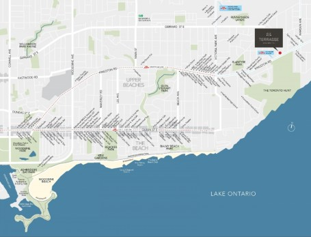terrasse Map